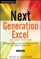 Next Generation Excel: Modeling in Microsoft Excel for Analysts and MBAs (for Windows and MAC OS) (Hardcover Book) at Sears.com