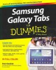 Samsung Galaxy Tabs for Dummies (Paperback Book) at Sears.com