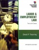Labor & Employment Law: Text and Cases (Hardcover Book) at Sears.com
