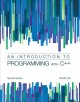 An Introduction to Programming With C++ (Paperback Book) at Sears.com