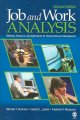 Job And Work Analysis: Methods, Research, And Applications for Human Resource Management (Paperback Book) at Sears.com