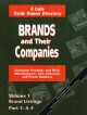 Brands and Their Companies: Consumer Products and Their Manufacturers With Addresses and Phone Numbers (Paperback Book) at Sears.com