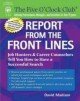 Report from the Front Lines: Job Hunters And Career Coaches Tell You How to Have a Successful Search (Paperback Book) at Sears.com