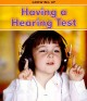 Having a Hearing Test (Paperback Book) at Sears.com