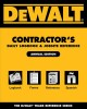 Dewalt Contractor's Daily Logbook & Jobsite Reference (Paperback Book) at Sears.com