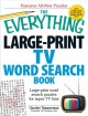 The Everything Large-Print TV Word Search Book: Large-Print Word Search Puzzles for Super TV Fans (Paperback Book) at Sears.com