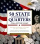 50 State Commemorative Quarters Collector's Map: Including the District of Columbia and the U.s Territories (Hardcover Book) at Sears.com