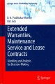 Extended Warranties, Maintenance Service and Lease Contracts: Modeling and Analysis for Decision-making (Hardcover Book) at Sears.com