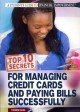Top 10 Secrets for Managing Credit Cards and Paying Bills Successfully (Paperback Book) at Sears.com