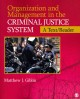 Organization and Management in the Criminal Justice System: A Text/Reader (Paperback Book) at Sears.com