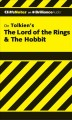 CliffsNotes On Tolkien's The Hobbit & The Lord of the Rings: Library Edition (Compact Disc Book) at Sears.com