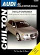 Chilton's Audi A4 2002-08 Repair Manual: Covers U.s. and Canadian Models of Audi A4 Sedan, Avant and Cabriolet 1.8l/2.ol 4-cylinder Turbo and 3.2l/3.2l V6 Engines Does Not Include Diesel Engine,s4 or Rs4 Model Information (Paperback Book) at Sears.com