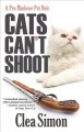 Cats Can't Shoot: A Pru Marlowe Pet Noir (Hardcover Book) at Sears.com