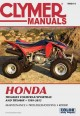 Clymer Manuals Honda TRX400EX Fourtrax/Sportrax and TRX400X 1999-2013 (Paperback Book) at Sears.com