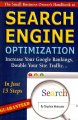 The Small Business Owner's Handbook to Search Engine Optimization: Increase Your Google Rankings, Double Your Site Traffic...in Just 15 Steps - Guaranteed (Paperback Book) at Sears.com