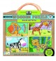 Animal Patterns: Earth Friendly Puzzles with handy carry & storage case (Game Book) at Sears.com