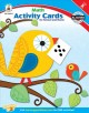 Math Activity Cards for School and Home, Kindergarten (Paperback Book) at Sears.com