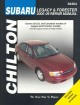 Chilton's Subaru Legacy and Forester 2000-09 Repair Manual: Covers U.S. and Canadian Models of Legacy 2000 through 2009 and Forester 2000 through 2008, Includes Legacy Outbark and Baja Models. Does Not Include Information Specific to Six-Cylinder and Diesel and Engine Models (Paperback Book) at Sears.com