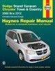 Dodge Grand Caravan Chrysler Town & Country: Automotive Repair Manual: 2008 through 2012: Includes Caravan Cargo Models (Paperback Book) at Sears.com