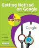Getting Noticed on Google in Easy Steps: Invaluable Tips to Increase Your Website Ranking on Google (Paperback Book) at Sears.com