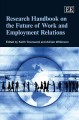 Research Handbook on the Future of Work and Employment Relations (Hardcover Book) at Sears.com
