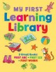 My First Learning Library: First ABC / First 123 / First Words (Board Book) at Sears.com