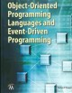 Object-Oriented Programming Languages and Event-Driven Programming (Hardcover Book) at Sears.com