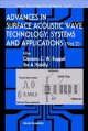 Advances in Surface Acoustic Wave Technology, Systems and Applications (Hardcover Book) at Sears.com