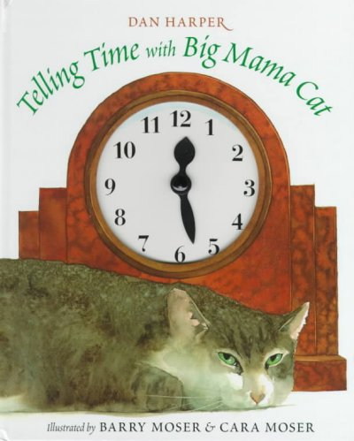 Telling Time with Big Mama Cat book cover