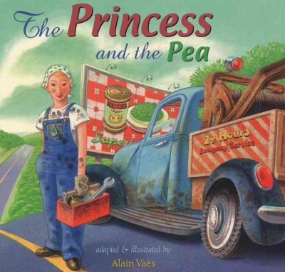 cover image of Vaes' version of Princess & thePea