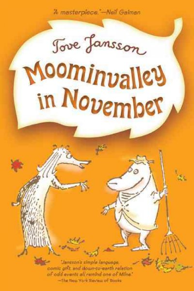 Moominvalley in November book cover