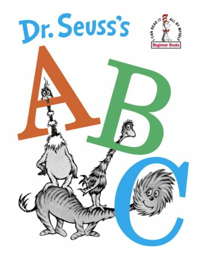 Dr. Seuss's ABCs book cover