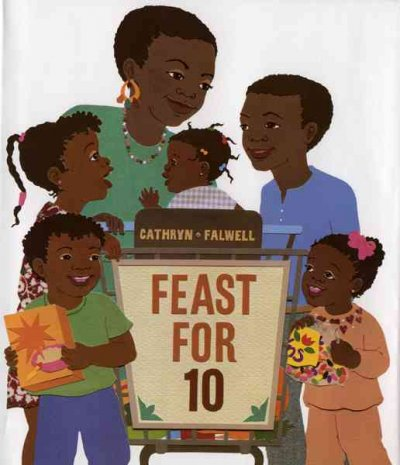 Feast for 10 book cover