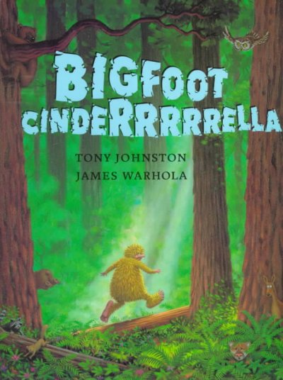 Cover image of Bigfoot Cinderella