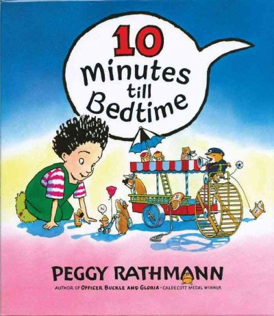 10 Minutes to Bedtime book cover