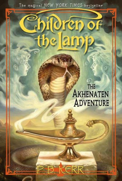 Akhenaten Adventure book cover