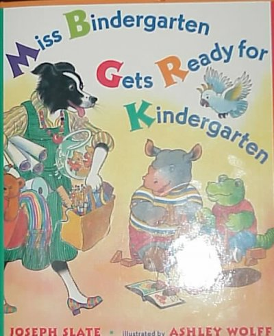 cover of Miss Bindergarten Gets Ready