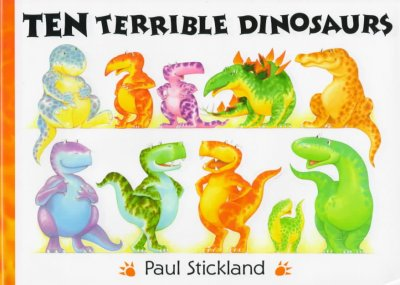Ten Terrible Dinosaurs book cover