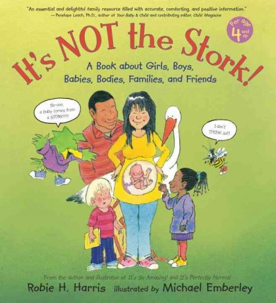 cover image of It's Not the Stork