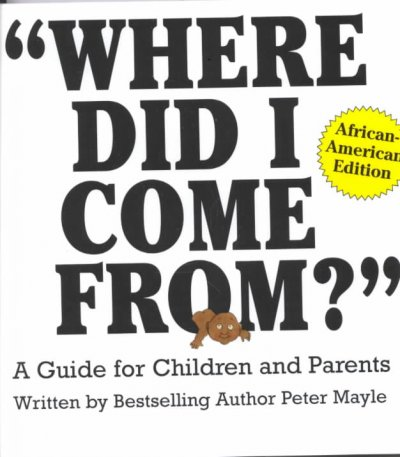 cover of Where Did I Come From?
