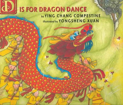 D is for Dragon Dance book cover