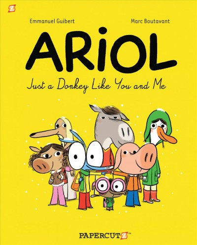 Ariol book cover