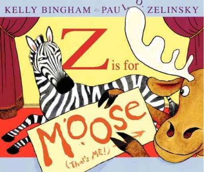 Z is for Moose book cover