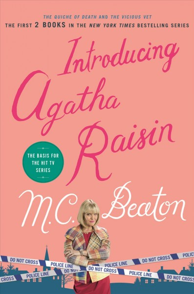 book cover with sassy blonde middle-aged woman