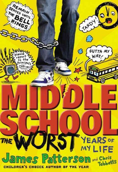 cover of Middle School the Worst Years of my life