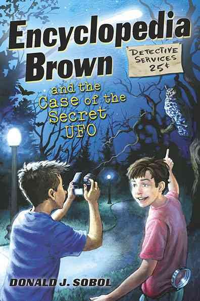 Encyclopedia Brown book cover
