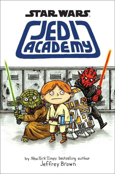 Jedi Academy book cover