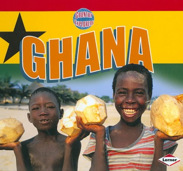 Country Explorers Ghana book cover
