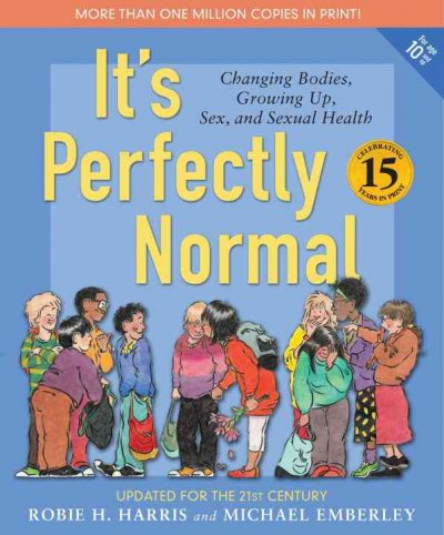 It's Perfectly Normal - a book cover.