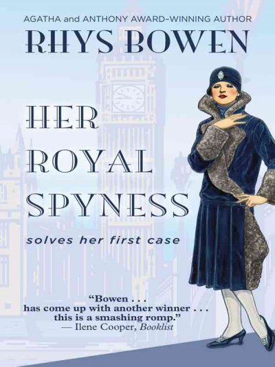 book jacket featuring dapper young lady from the 1930s and Big Ben
